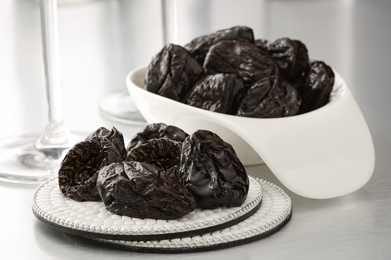 Prunes in a stylish dish